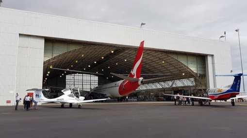 Adelaide Airport Qantas Day